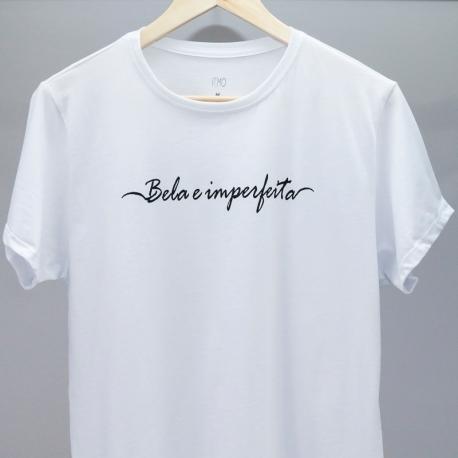 Camiseta Bela e Imperfeita